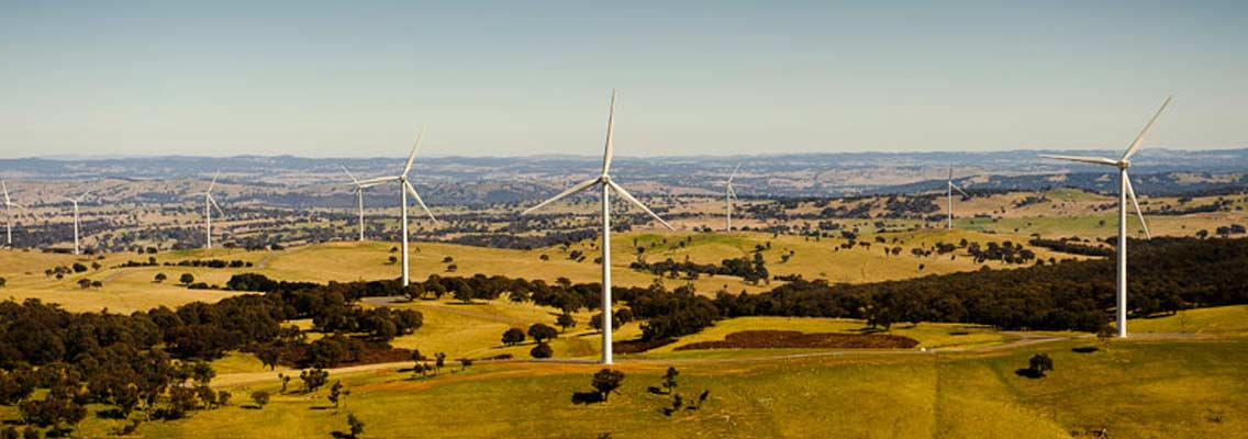 Blayney Wind Farm Central West NSW