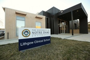 University of Notre Dame Lithgow Clinical School Central West NSW